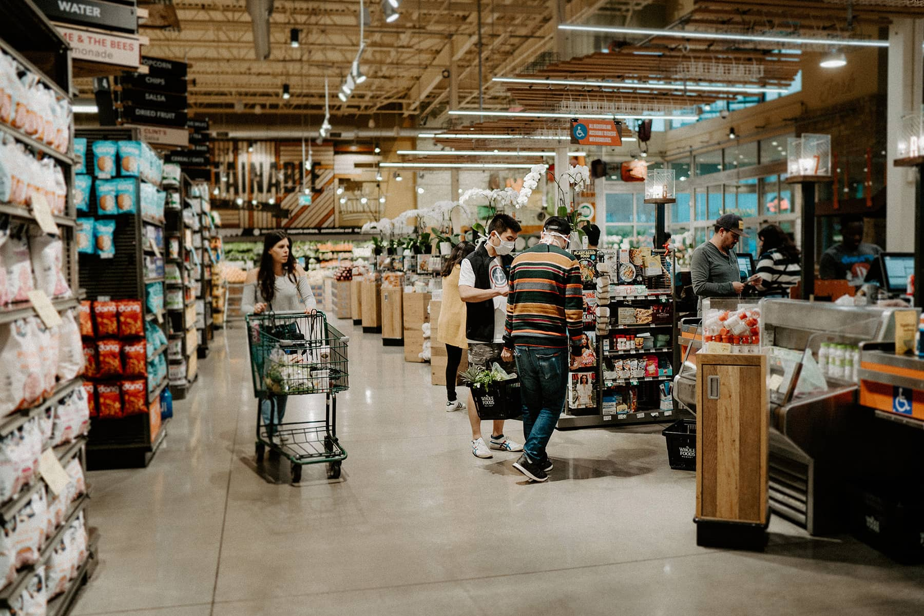 Whole Foods Market, Domain Drive, Austin, TX, USA. Picture credit: Brittani Burns.